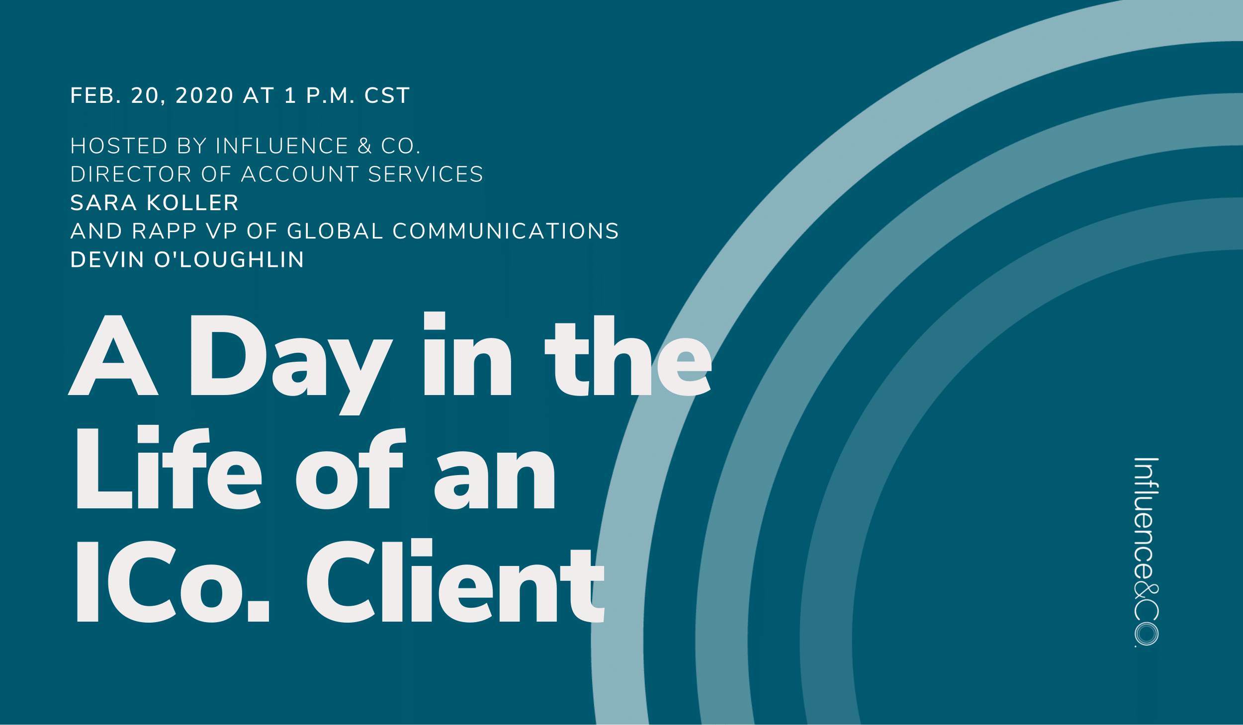 A Day in the Life of an ICo. Client FINAL website header